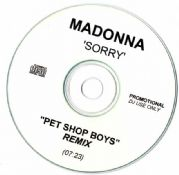 SORRY -  PET SHOP BOYS REMIX PROMO  CD